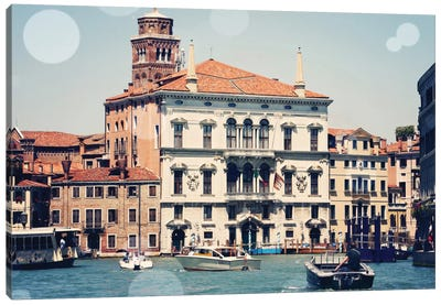 Venice Bokeh IV Canvas Art Print