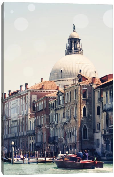 Venice Bokeh V Canvas Art Print