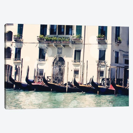 Venice Bokeh VI Canvas Print #COO17} by Sylvia Coomes Canvas Wall Art