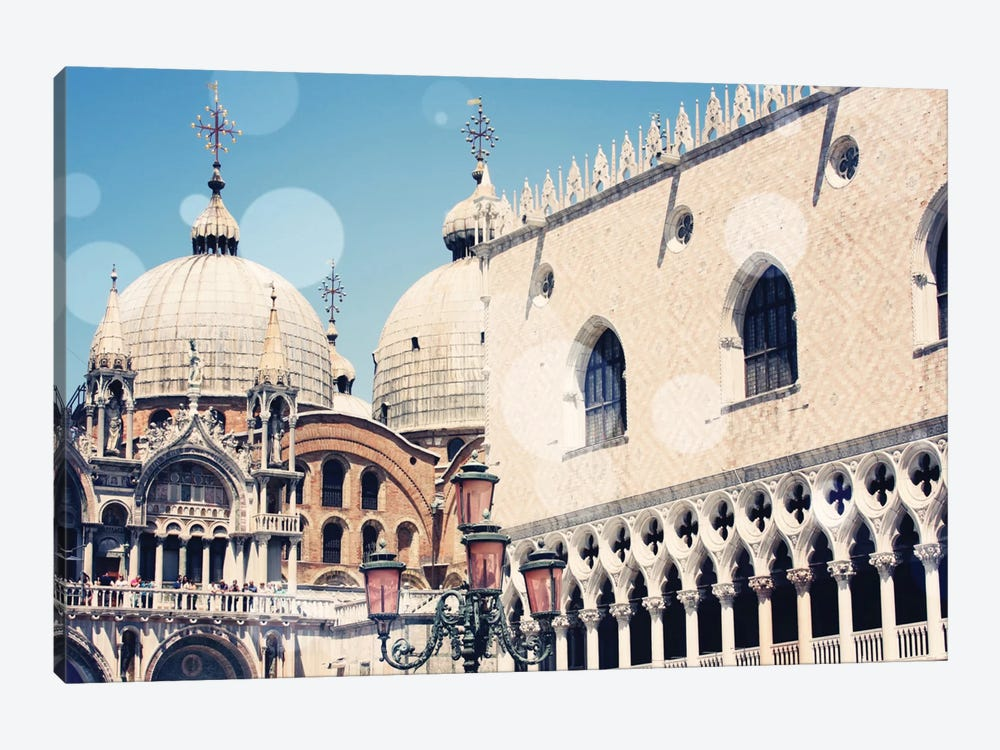 Venice Bokeh IX 1-piece Canvas Art