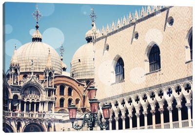 Venice Bokeh IX Canvas Art Print