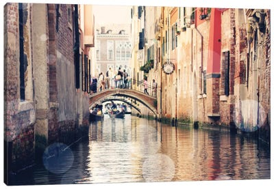 Venice Bokeh XIV Canvas Art Print