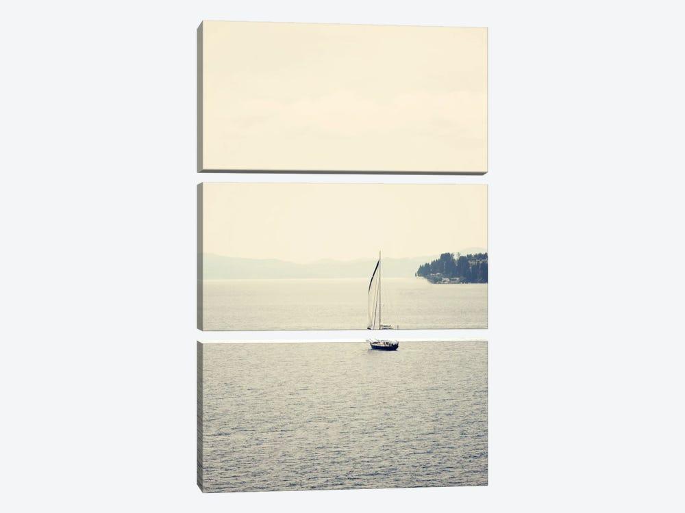 Hazy Sea by Sylvia Coomes 3-piece Canvas Print