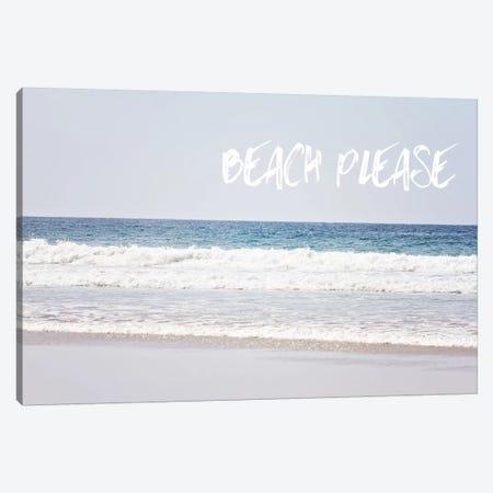 Beach Please Canvas Print #COO29} by Sylvia Coomes Canvas Art