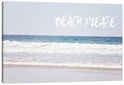 Beach Please Canvas Art Print