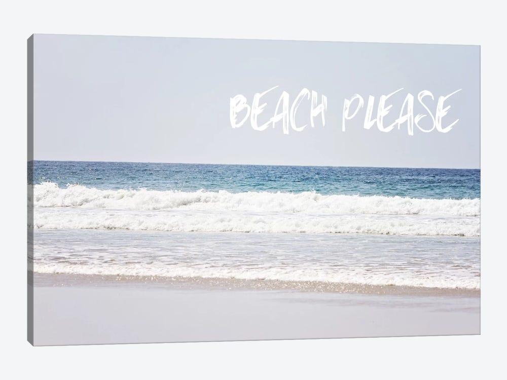 Beach Please by Sylvia Coomes 1-piece Canvas Art Print