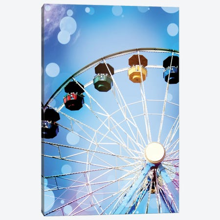 Carnival Blues II Canvas Print #COO32} by Sylvia Coomes Art Print