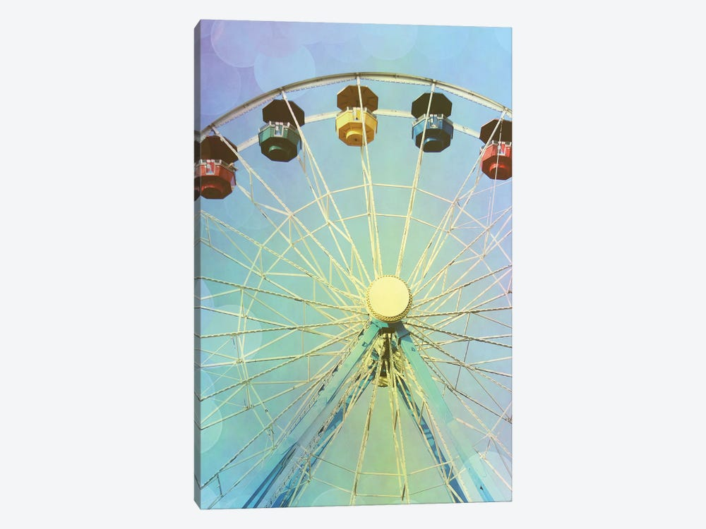 Rainbow Ferris Wheel I by Sylvia Coomes 1-piece Canvas Print