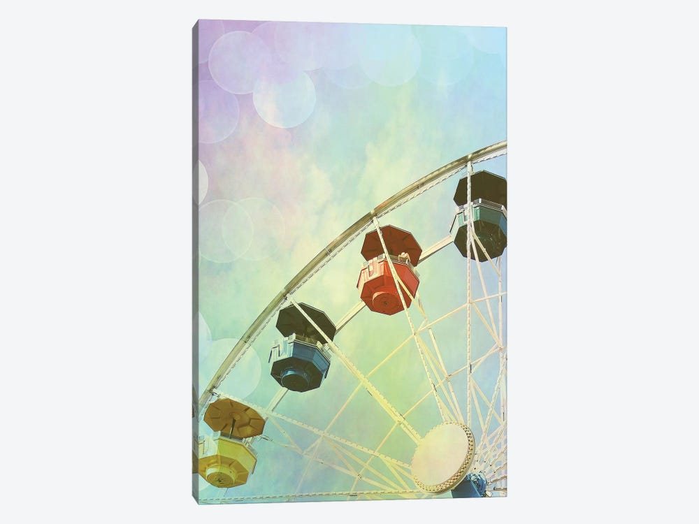 Rainbow Ferris Wheel II by Sylvia Coomes 1-piece Canvas Artwork