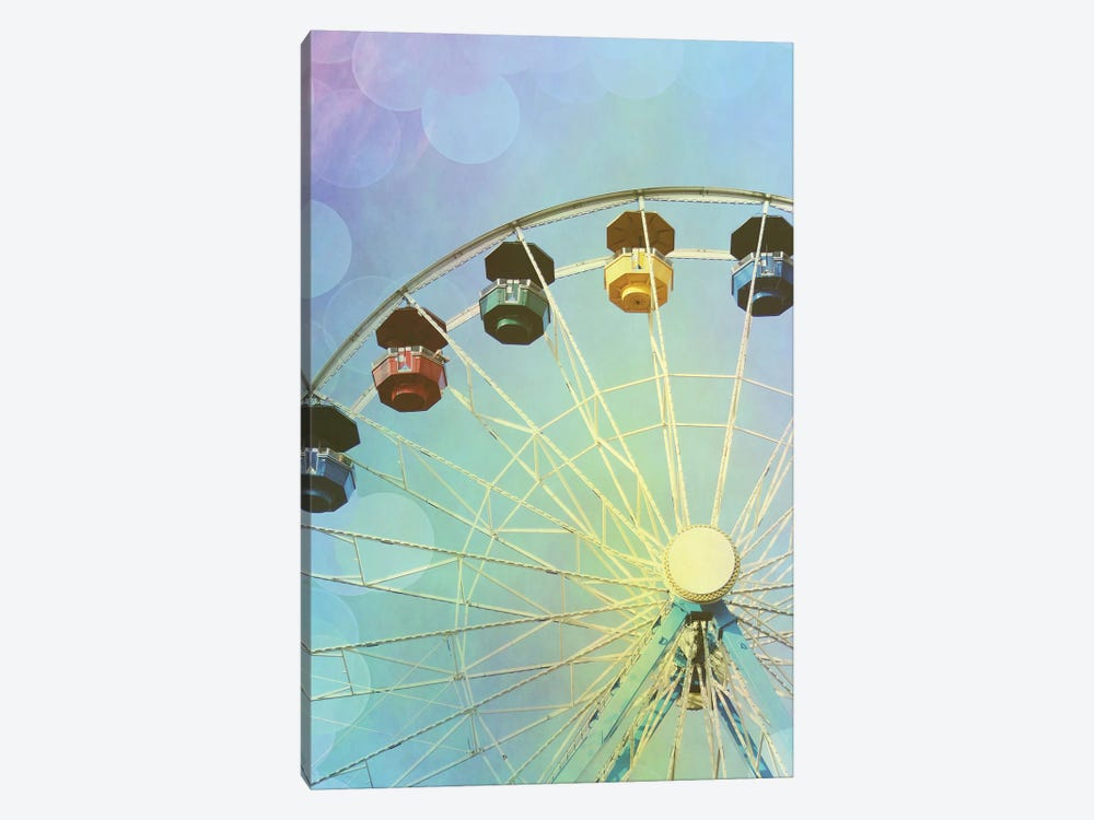 Rainbow Ferris Wheel III by Sylvia Coomes 1-piece Canvas Print
