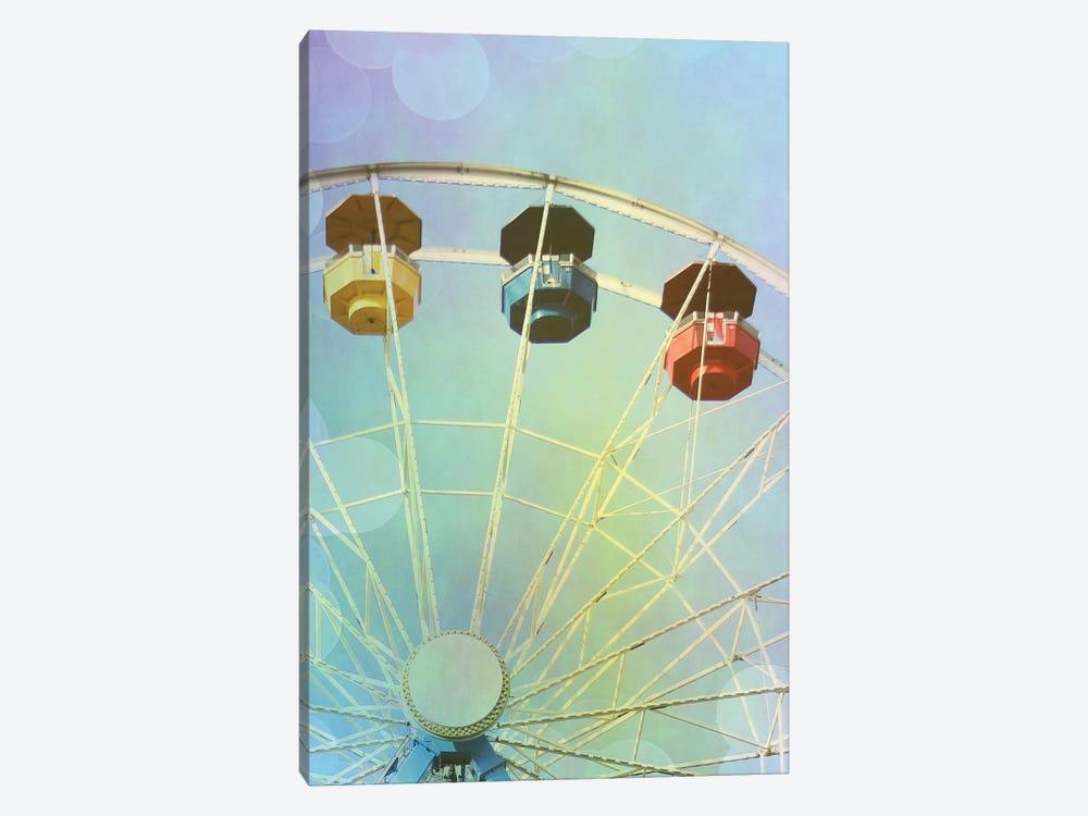 Rainbow Ferris Wheel IV by Sylvia Coomes 1-piece Canvas Art