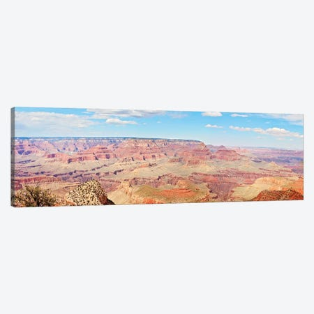 Grand Canyon Panorama I Canvas Print #COO3} by Sylvia Coomes Canvas Art Print