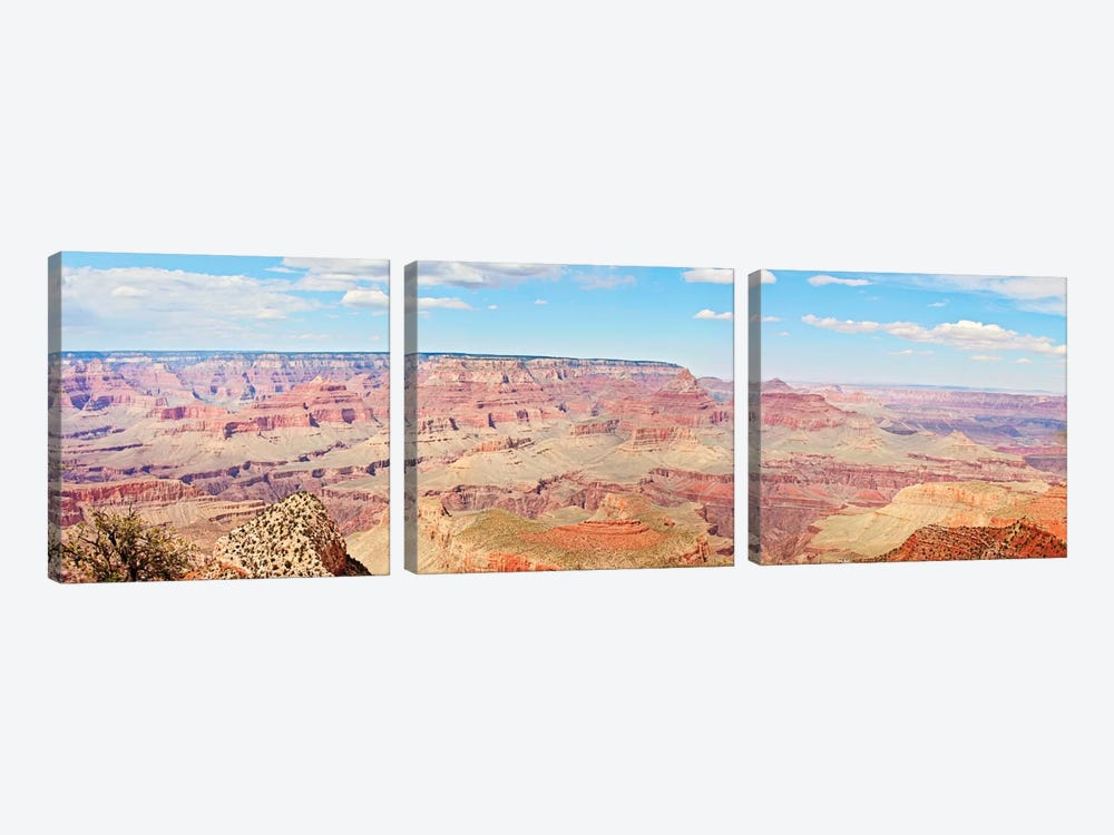 Grand Canyon Panorama I by Sylvia Coomes 3-piece Canvas Print