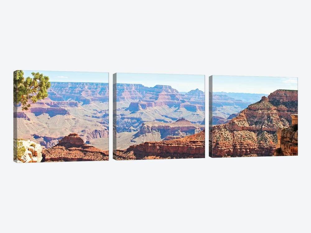 Grand Canyon Panorama II by Sylvia Coomes 3-piece Canvas Art