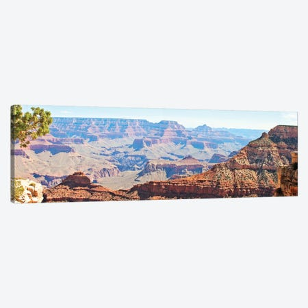 Grand Canyon Panorama II Canvas Print #COO4} by Sylvia Coomes Canvas Artwork
