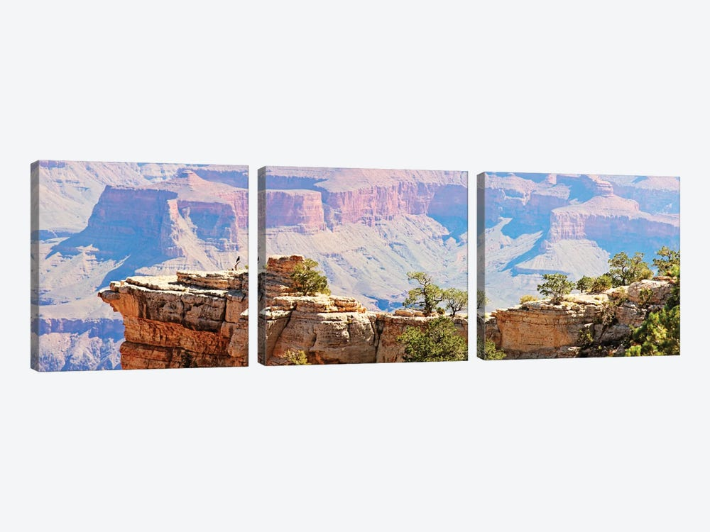 Grand Canyon Panorama III by Sylvia Coomes 3-piece Canvas Print