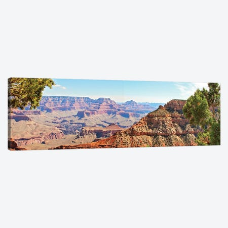 Grand Canyon Panorama IV Canvas Print #COO6} by Sylvia Coomes Canvas Wall Art