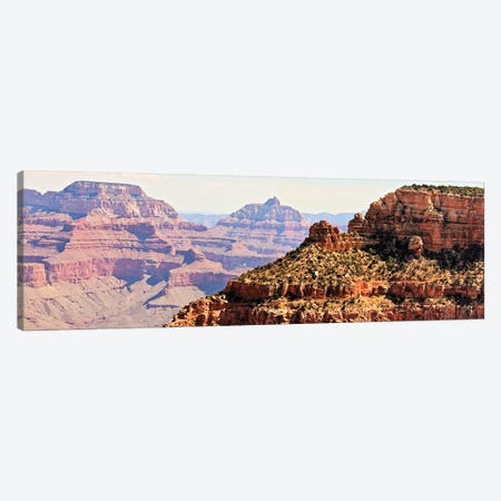Grand Canyon Panorama V Canvas Print #COO7} by Sylvia Coomes Canvas Art