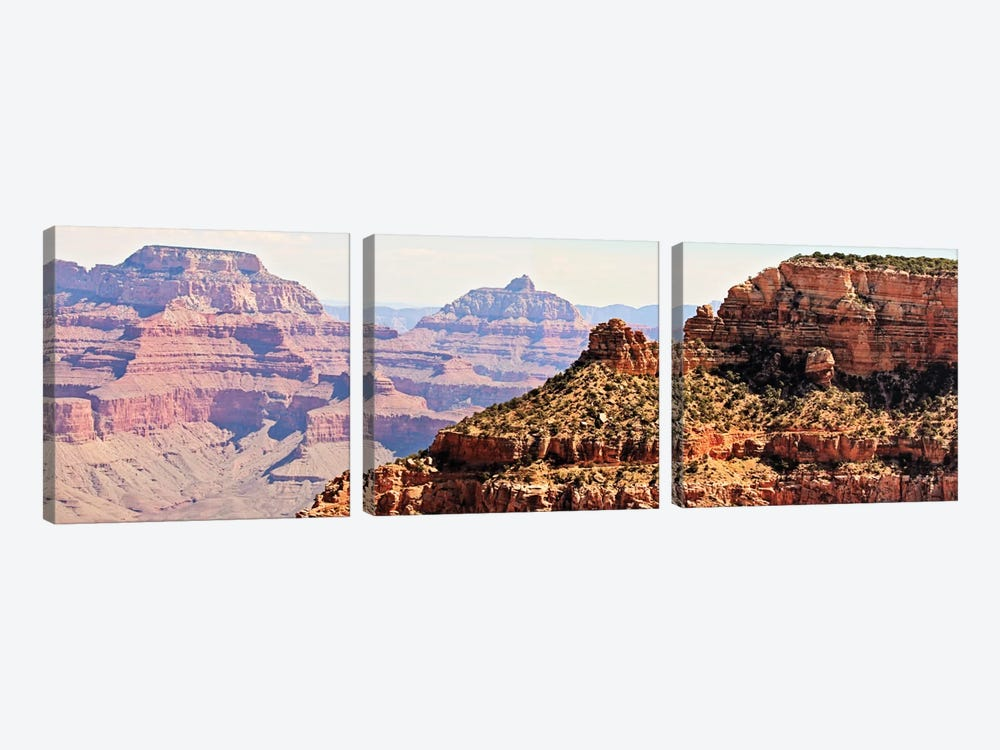Grand Canyon Panorama V by Sylvia Coomes 3-piece Canvas Art Print