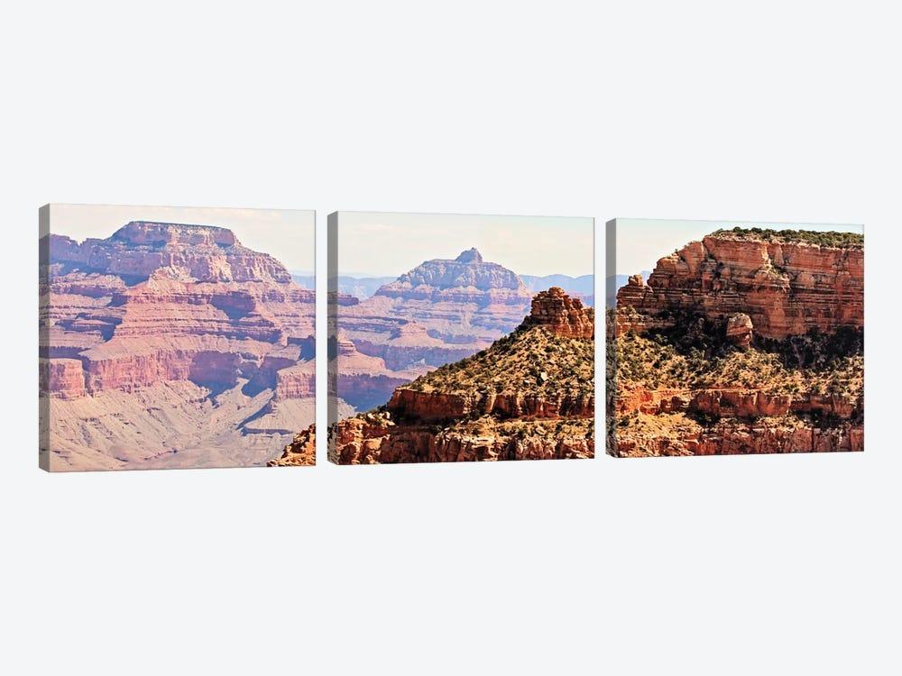 Grand Canyon Panorama V by Sylvia Coomes 3-piece Canvas Art Print