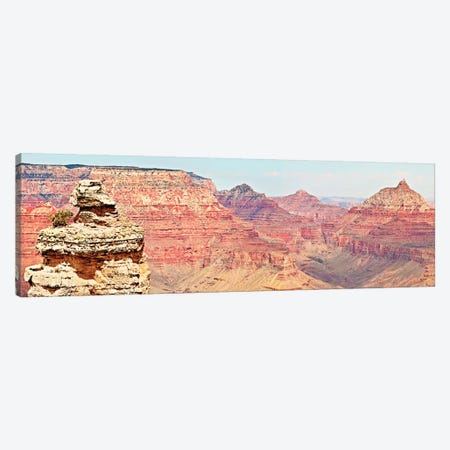 Grand Canyon Panorama VI Canvas Print #COO8} by Sylvia Coomes Canvas Art Print