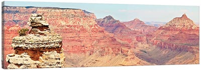 Grand Canyon Panorama VI Canvas Art Print