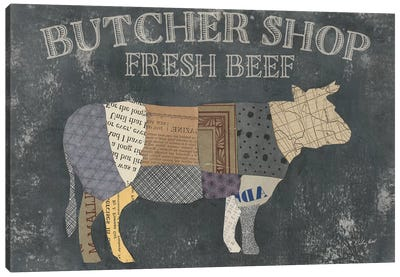 From the Butcher XIII Canvas Art Print