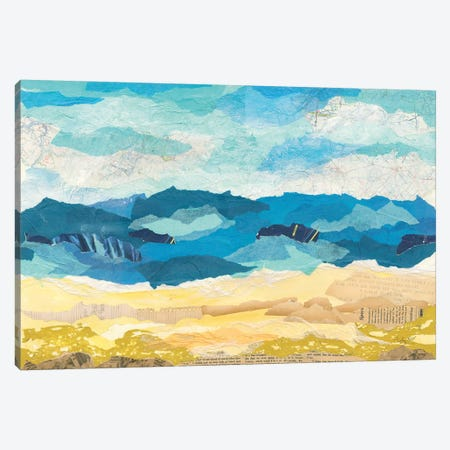 Abstract Coastal I Canvas Print #COP12} by Courtney Prahl Canvas Art