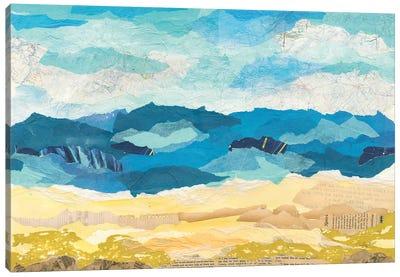 Abstract Coastal I Canvas Art Print