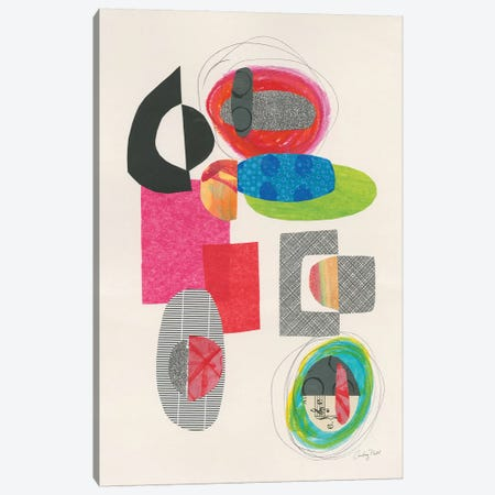 Geometric Collage Canvas Print #COP20} by Courtney Prahl Art Print