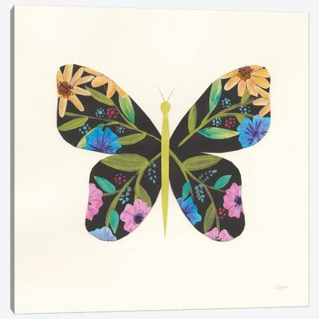 Butterfly Garden I Canvas Print #COP21} by Courtney Prahl Canvas Art Print