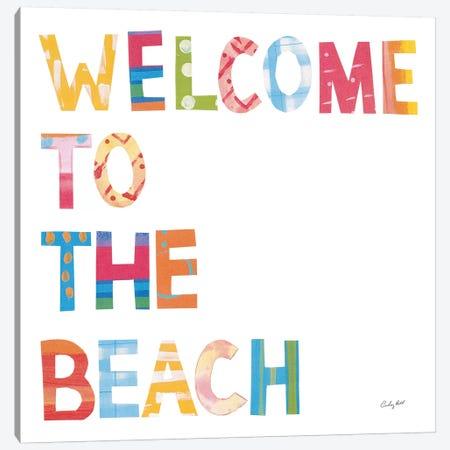 Sea Sand Sun III Canvas Print #COP36} by Courtney Prahl Canvas Art Print