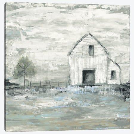 Iowa Barn II Canvas Print #COP40} by Courtney Prahl Art Print