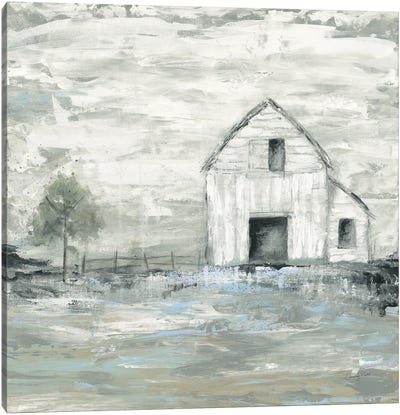 Iowa Barn II Canvas Art Print
