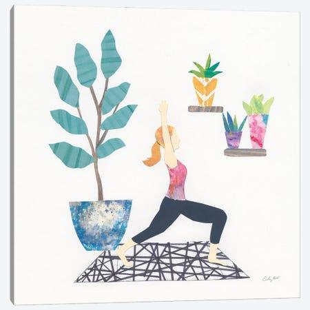 Namaste I Canvas Print #COP43} by Courtney Prahl Canvas Art Print