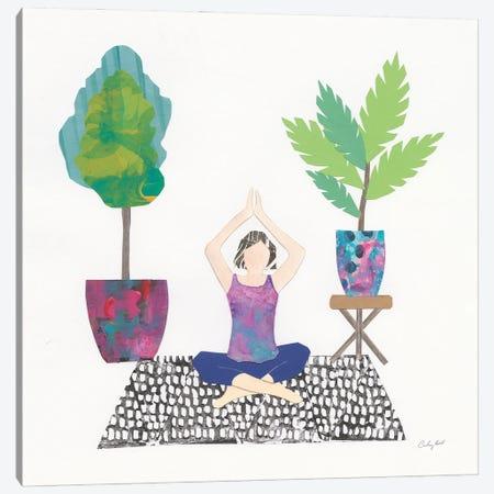 Namaste II Canvas Print #COP44} by Courtney Prahl Canvas Artwork