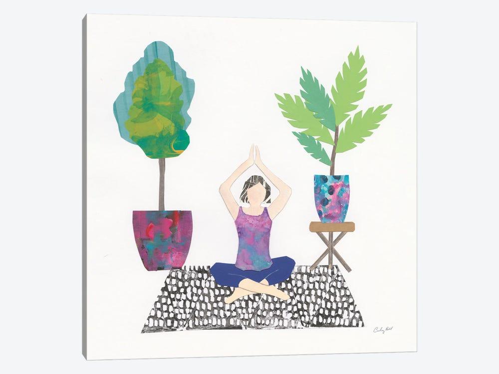 Namaste II by Courtney Prahl 1-piece Canvas Print