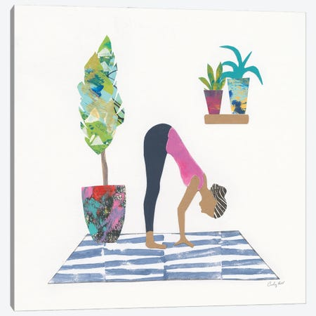 Namaste III Canvas Print #COP45} by Courtney Prahl Canvas Art