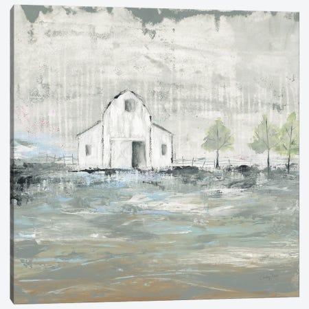 Iowa Barn I Canvas Print #COP49} by Courtney Prahl Art Print