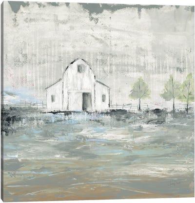 Iowa Barn I Canvas Art Print