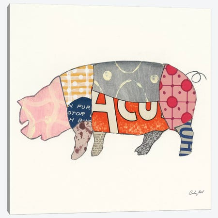 From the Butcher II Canvas Print #COP5} by Courtney Prahl Canvas Artwork