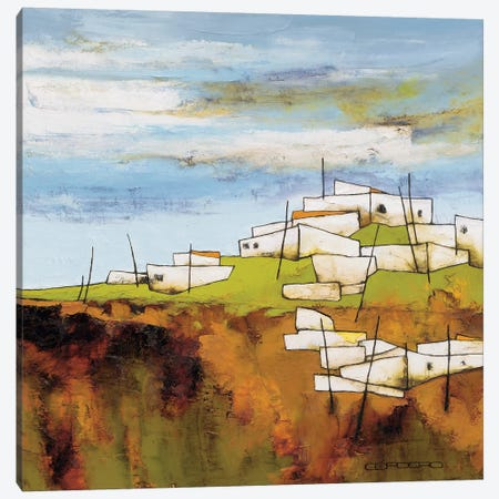 Peaceful Village I Canvas Print #COR7} by Emiliana Cordaro Canvas Artwork