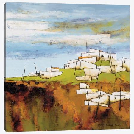 Peaceful Village I Canvas Print #COR7} by Emiliana Cordaro Canvas Artwork