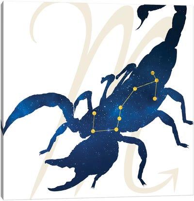 Stars of Scorpio Canvas Art Print