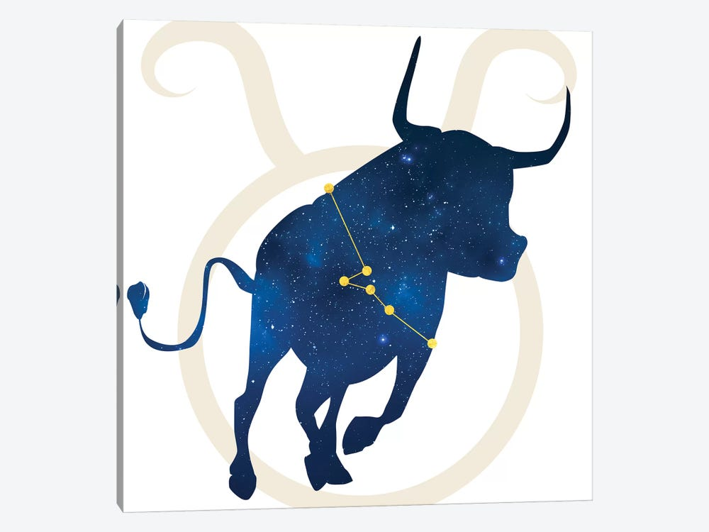 Stars of Taurus by 5by5collective 1-piece Canvas Art Print