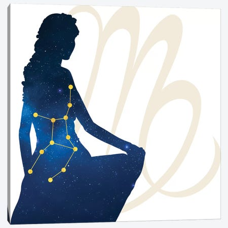 Stars of Virgo Canvas Print #COS12} by 5by5collective Canvas Art Print