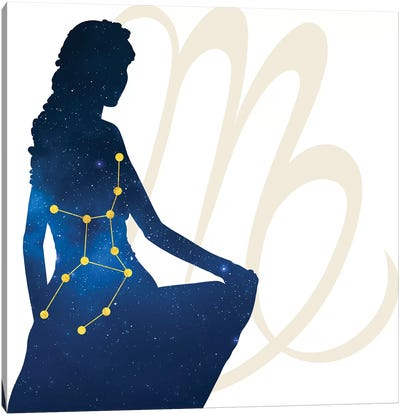 Stars of Virgo Canvas Art Print