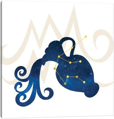 Stars of Aquarius Canvas Art Print