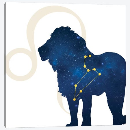 Stars of Leo Canvas Print #COS6} by 5by5collective Art Print