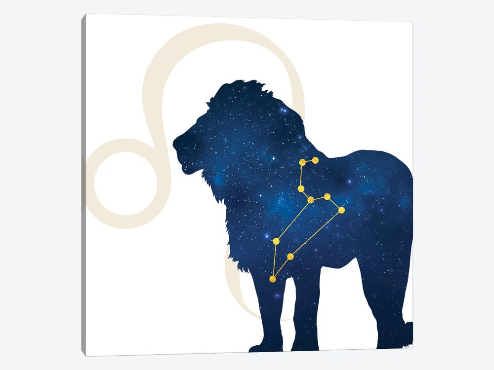 Stars of Leo by 5by5collective 1-piece Canvas Artwork